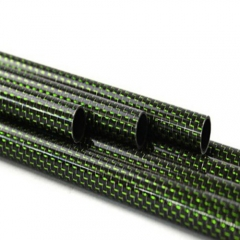 Custom Size Carbon Fiber Colored Tube for sports,UAV,auto parts